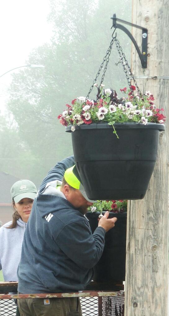 Hanging New Flowerbaskets in 2021